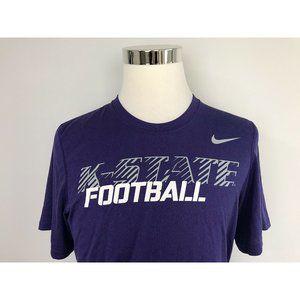 Nike K-State Football Men's T-Shirt Tee S Small Pu